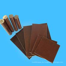 Elektrische Anwendung Brown Fabric Phenolic Cotton Sheet