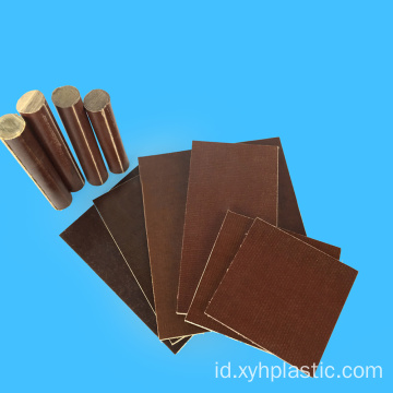 Aplikasi Listrik Brown Fabric Phenolic Cotton Sheet
