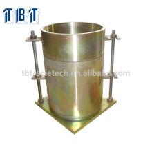 ASTM BS CBR Form mit Kragen und perforiertem Boden