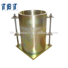 ASTM BS CBR mould with collar and perforated base