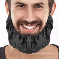 Couverture de barbe de tablier de cheveux de bandana de filet réutilisable facial