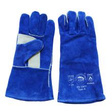 Подкрепление Рабочие сварочные перчатки для ладонной кожи для сварщиков