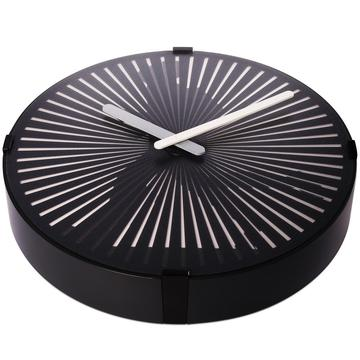 Round Running Moving Wall Clock