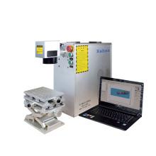 Laser Engraving 30W 50W Fiber Laser Marking Machine Carbon Steel Iron Aluminum Copper Brass Metal