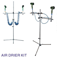 2 GUN WATERBORNE PAINT AIR DRYER STAND