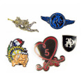 Leuke Cartoon broches Pin voor kleding Decor
