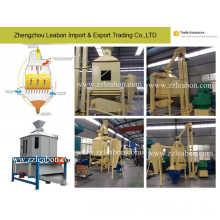 Máquina de enfriamiento de la pelotilla de la alimentación del granulador de madera que trabaja en cadena de producción de la pelotilla