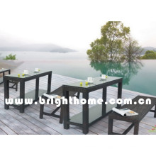 Simple Design Rattan Wicker Outdoor Dining Set Bg-Mt023