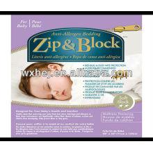 Zip & Block Anti Allergen & Bed Bug Proof Crib Mattress Encasement