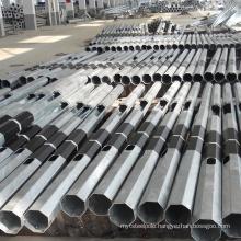 6m 10m 12m 15m 20m galvanized Q235 steel power pole electric power transmission power pole