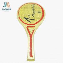 Insignia de encargo del Pin de la solapa del logotipo del tenis del deporte del bastidor de la aleación de la venta caliente en metal