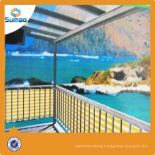 Hot selling balcony patio wind balcony net with low price