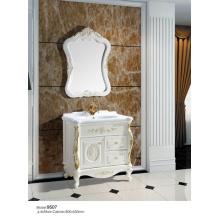 Boden Luxuriöses PVC-Badezimmer-Schrank (9507)