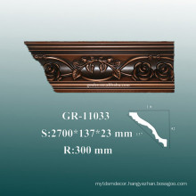 Economical Decorative Polyurethane 3D Wall Corner Panels Moulding