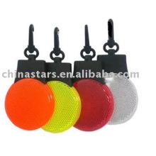 Marcador LED reflexivo para presente agradável ou chaveiro