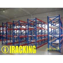 Shelving longo resistente do metal do período para as soluções industriais do armazenamento do armazém (IRB)
