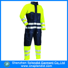 China Wholesale Safety Product High Visibility Mens Coverall Workwear