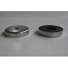 Ceramic Ferrite Shallow Pot Magnet