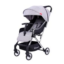 Carrinhos gêmeos para bebês superleves, pequenos e dobráveis, para recém-nascidos