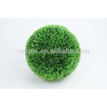 2015 Китай декоративные круглый искусственный вися цепь траве с мячом