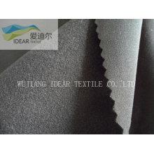 Nylon 40D spandex fibra micro mate cepillado tela tejido de punto de trama