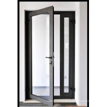 Porte battante en aluminium ouvrant la porte battante extérieure