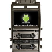 Android System lecteur dvd de voiture pour FORD Taurus avec GPS, Bluetooth, 3G, ipod, jeux, double zone, contrôle du volant