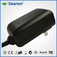 Adaptador de corriente 18watt / 18W con nosotros Pin para dispositivo móvil, decodificador, impresora, ADSL, audio y video o electrodomésticos