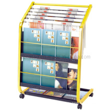 Stainless Steel Newspaper Magizine Book Display Stand (DM26)