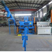 Machine à briqueterie de sciure à bois rentable / fournisseur de presses à briqueterie de sciure