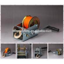 de alta calidad de la fábrica portátil manual del torno