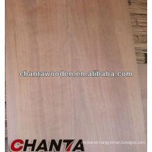 Tablero de la madera contrachapada de los muebles de 6m m con la base del álamo