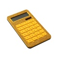 10 Digits Dual Power Diamonds Crystal Decorated Calculators