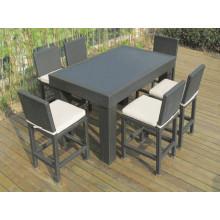 Rattan Korb Garten Outdoor Möbel-Bar Stuhl Set