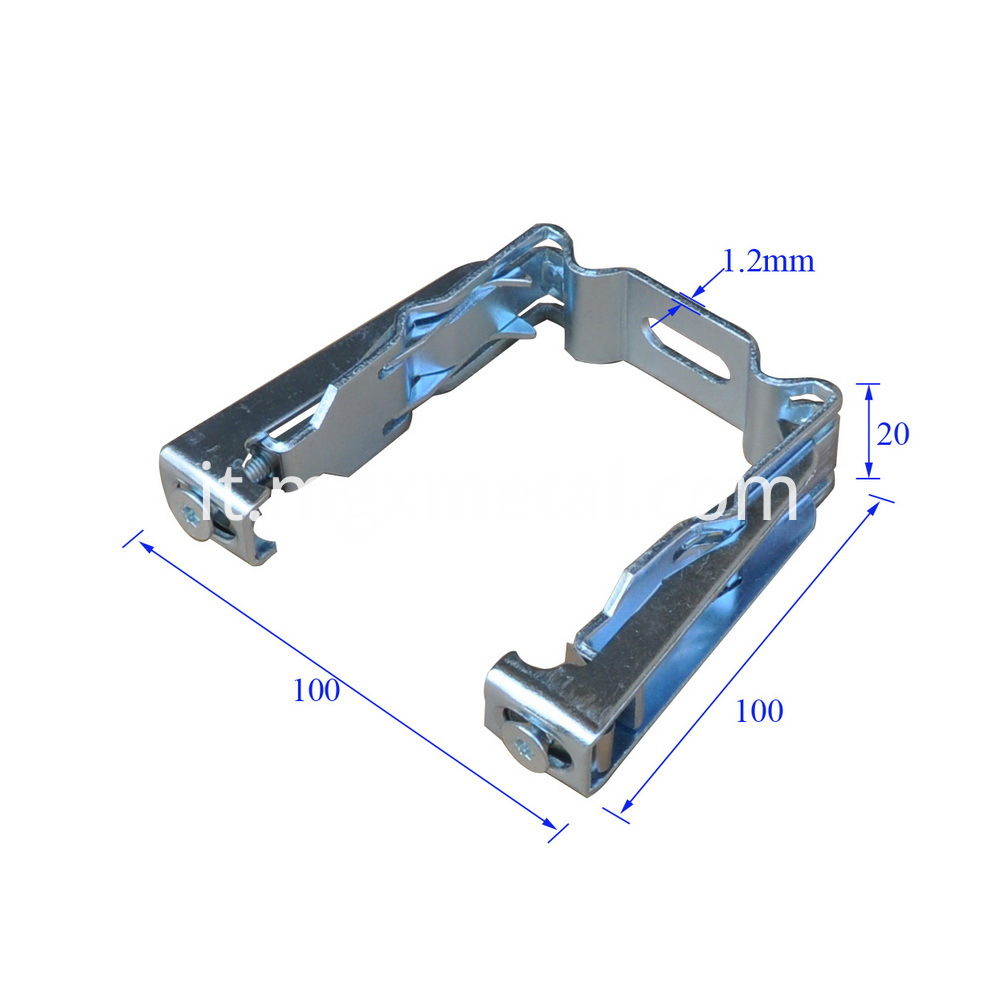 Scd0001 Adjustable Suspension Bracket For Ceiling Keel Size