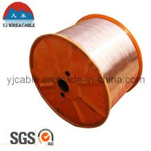 Cable de TV coaxial de la aprobación 1.0 del CCS de la aprobación de SGS Material sin procesar