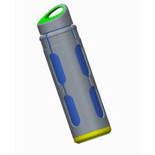 Стеклянная бутылка 20 унций с наружным полипропиленом