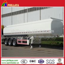 Stahltransport-flüssiger Tanker-Wassertank-Anhänger mit dem Volumen optional