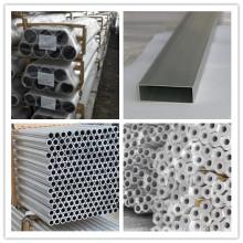 Barre hexagonale en alliage d'aluminium avec trous