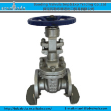 ANSI clase150 A216 válvula de compuerta de acero fundido