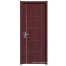 Puerta interior de madera (HDC-019)