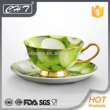 Bestseller neues Produkt im Jahr 2014 Feinporzellan Teetasse und Untertasse Set