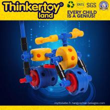 2015 Building Toys Self-Assemble Intelligence Toy Car Blocks Toys