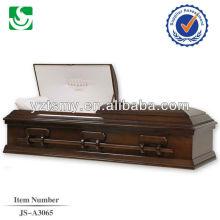 Remise des American biers hautement qualifiés cercueil en bois faits à la main
