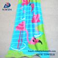 Hight Quality 100% algodón logotipo personalizado personalizado Toalla de playa