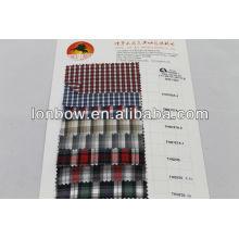 Stock 100% Polyester Streifenhemdstoff