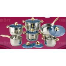 5 Step 12 PCS Cookware Set