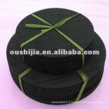 Tissu en fil métallique noir et bon marché (directement de l'usine)