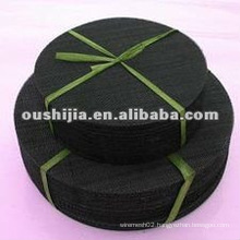 Cheap and fine black woven wire cloth(directly from factory)