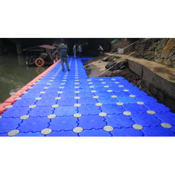 SGS testing design modular floating pontoon dock quick easy to use made in China rubber pontoon